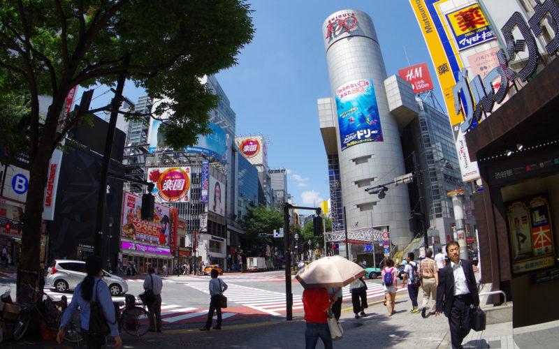 渋谷109前交差点近辺