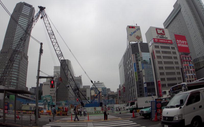渋谷中央街近辺