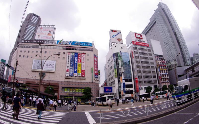 2012年6月19日渋谷中央街東急プラザ