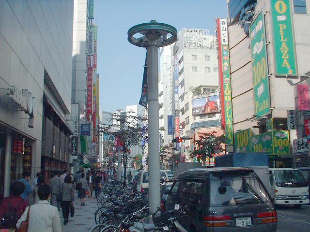2001年10月文化村通り