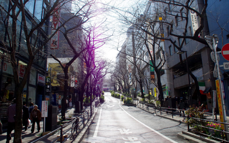 桜ヶ丘近辺