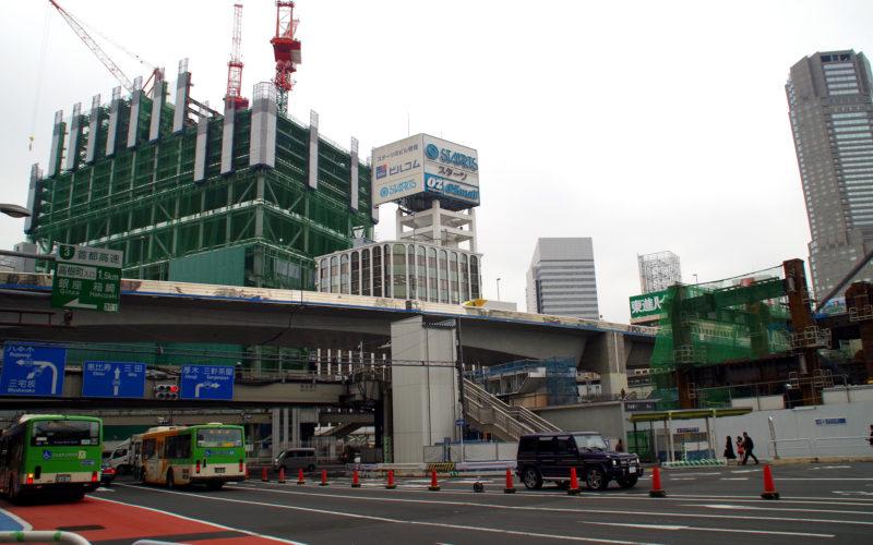 渋谷ストリームと246号