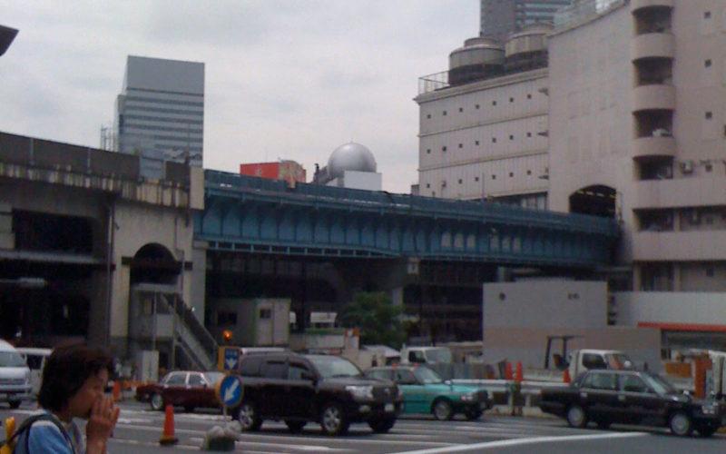 宮益坂下交差点東急東横店東館