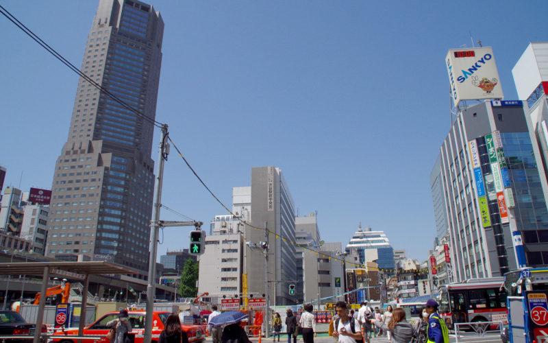 渋谷駅南口駅前