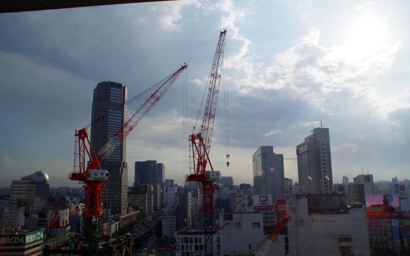 セルリアンタワーと東急東横店東館タワー