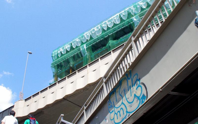 東急東横タワー建設工事