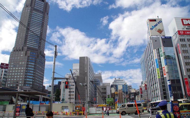 渋谷中央街渋谷駅南口駅前