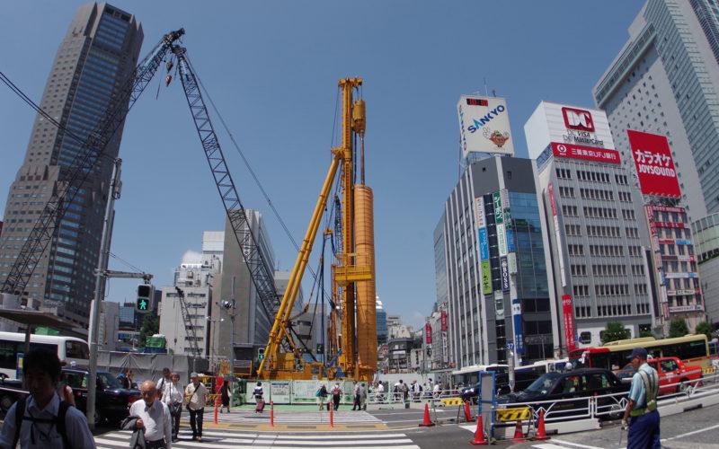 渋谷駅南口中央街近辺