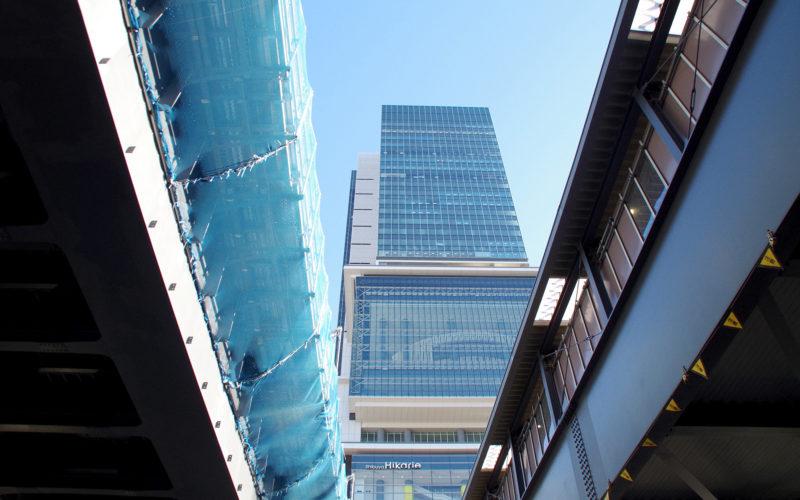 渋谷駅東口近辺161228