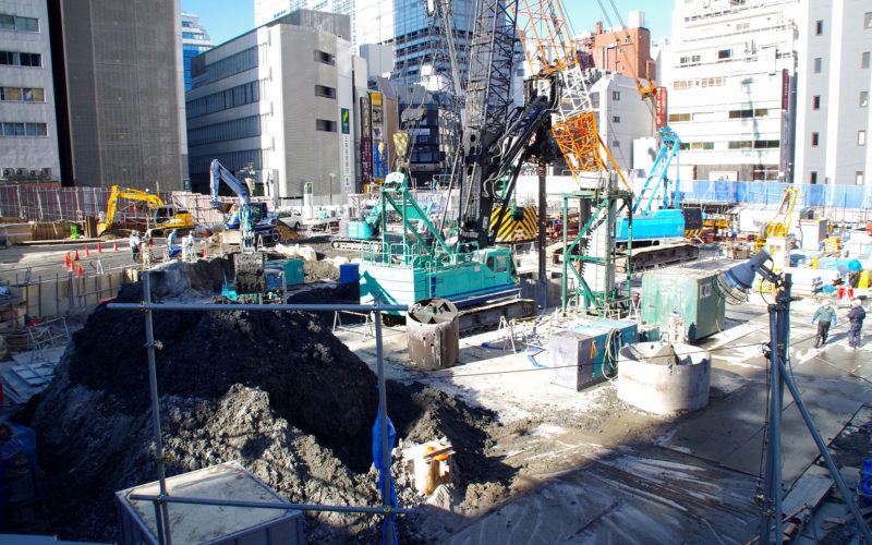 渋谷中央街東急プラザ跡