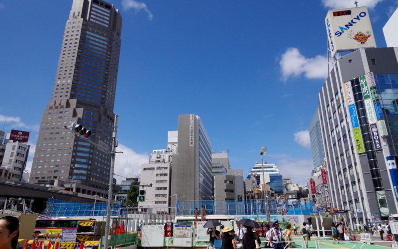渋谷駅南口から渋谷中央街