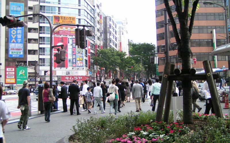 2006年5月29日渋谷駅宮益口広場