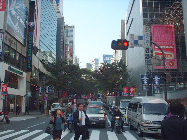 2001年10月道玄坂