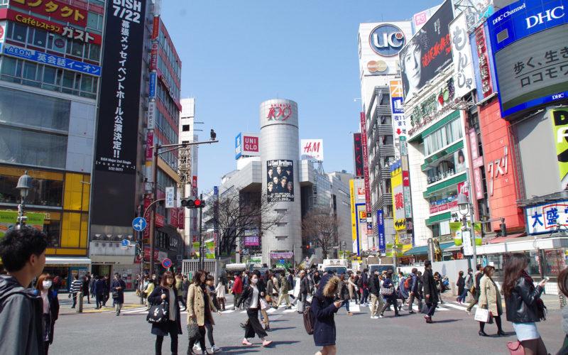 渋谷駅前交差点近辺20170328