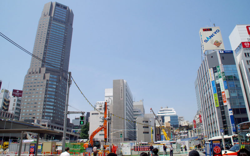 渋谷駅西口駅前